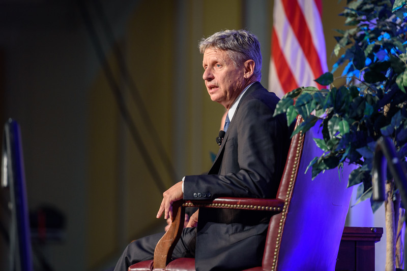 9/13/16 Gary Johnson Town Hall