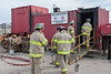 Joint Fire Training 2006 August 26 - Flashover Training Unitp
