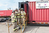 Joint Fire Training 2006 August 26 - mobile flashover training unit