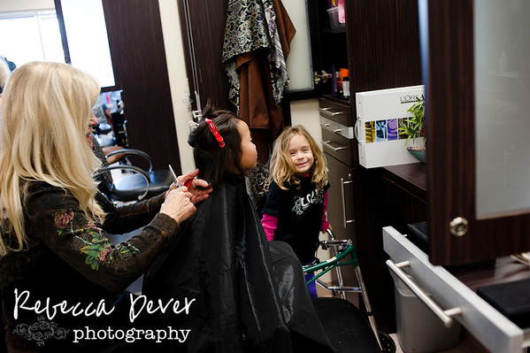 Jordan Pollard Salon Day