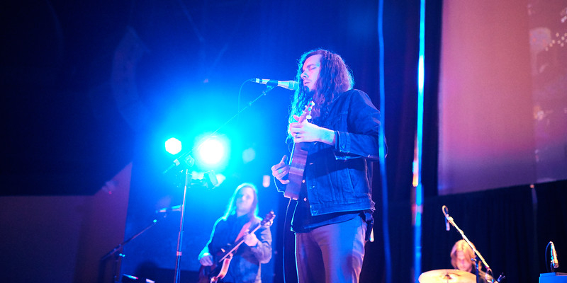 """Josh Garrels """"The Light Came Down"""" tour with The Brilliance and A Boy & His Kite"""