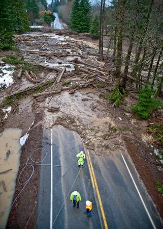2009 1-8 Mt  Baker Highway Mud Slide 3