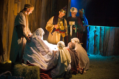 Nativity Scene © Nora Kramer. All rights reserved.