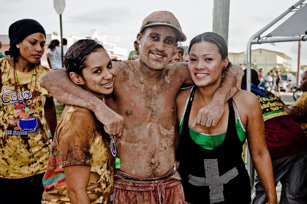 Jouvert in Belize City, September 3rd, 2011.