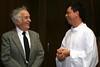 Jubilarian Br. John Monek with Frater Fernando Orozco
