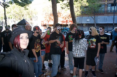 Elated Juggalos