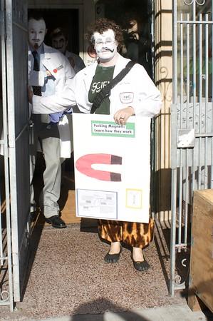 Dr Slutwallop emerges with Magnet Poster