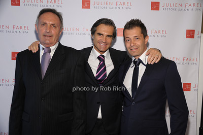 Paul Farel, Julien Farel, Ferdinand Gallinelli photo by Rob Rich/SocietyAllure.com © 2014 robwayne1@aol.com 516-676-3939