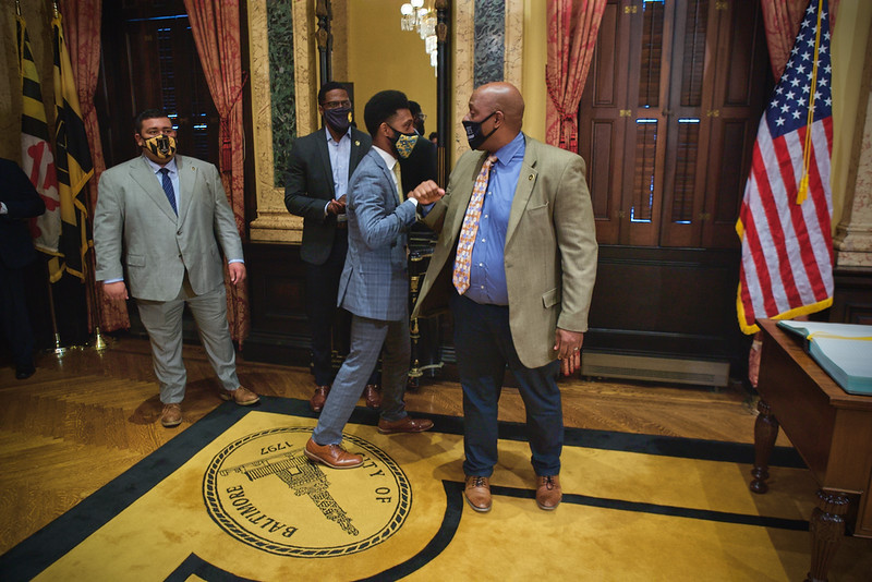 July 02, 2021 - Swearing in ceremony for Director Jason Mitchell for the Department of Public Works