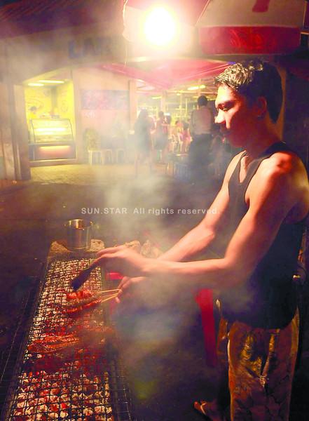Larsian barbecue in Cebu
