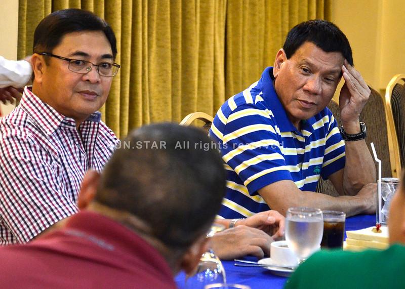 Rodrigo Duterte calls for a command conference