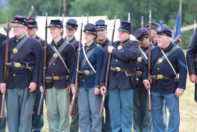 July 2015 Chehalis Civil War Spencer