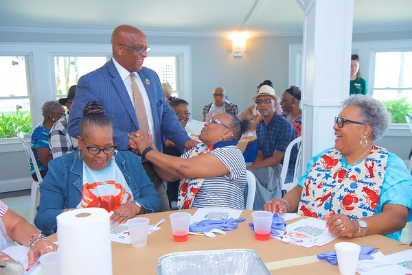 July 22, 2019 - Baltimore Recreation and Parks Senior Crab Feast at Kurtz's Beach