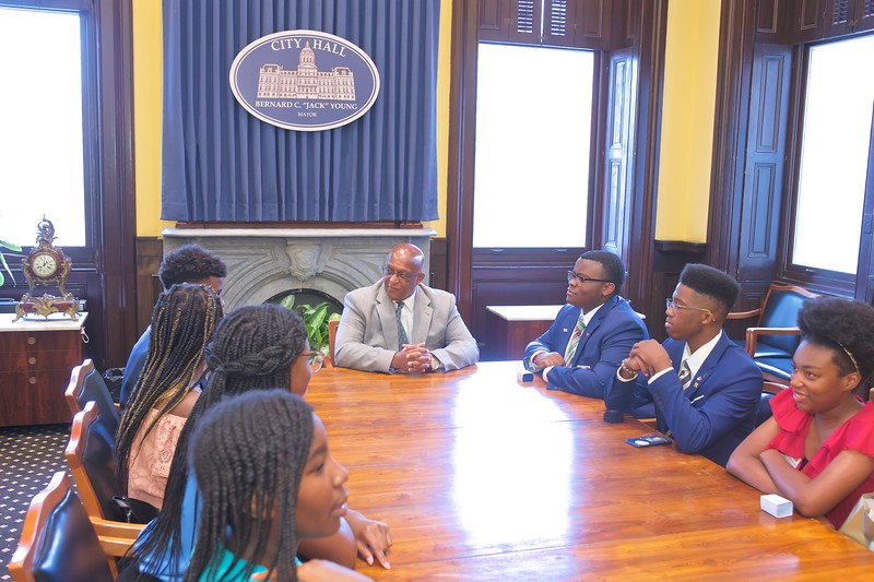 July 29, 2019 - City Hall visit from the Xiamen Sister City Committee Youth Ambassadors