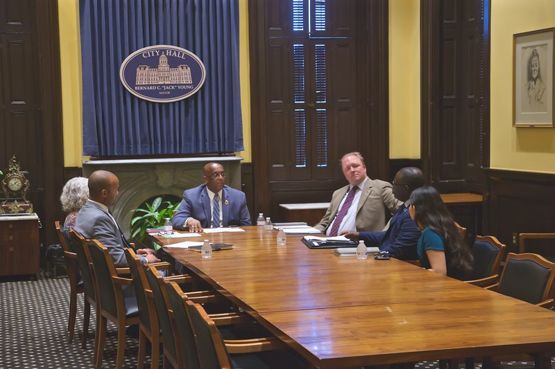 July 31, 2019 - BGE Visit to City Hall with Jay Bennett and Ammanuel Moore