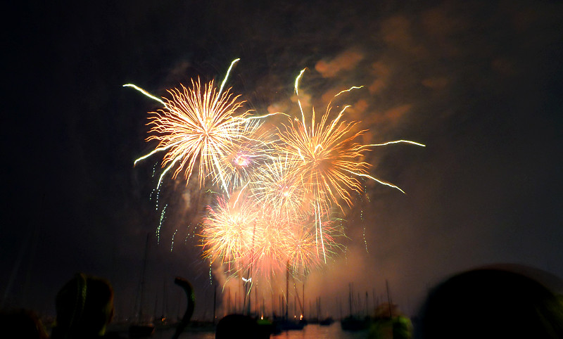Fireworks on the lakefront