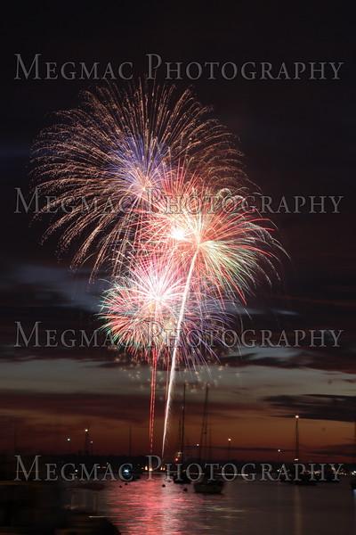 July 4 Fireworks-Newport-2010