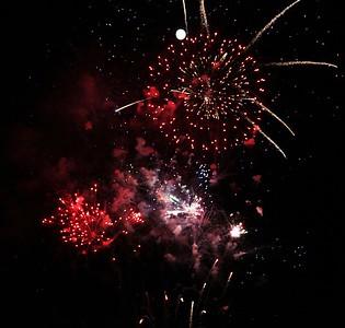 July 4th 2009 Fireworks- Tahoe City, CA