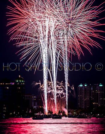 July 4th Fireworks Sarasota 2014