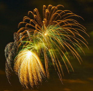 July Fourth Fireworks