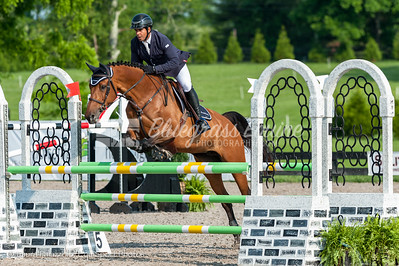 LEXINGTON, KY- 05/27/18 FRANCISCO ARREDONDO riding  WINIRISJA compete in the $5,000 Child/Adult 1.10m Final at the Split Rock Jumping Tour (The Lexington International CSI 2*)