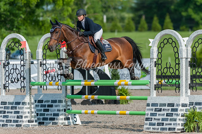LEXINGTON, KY- 05/27/18 ERICKA HOULIHAN riding Big Star competes in the $5,000 Child/Adult 1.10m Final at the Split Rock Jumping Tour (The Lexington International CSI 2*)