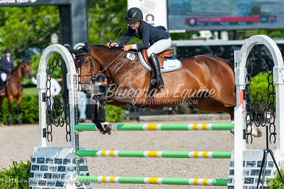 LEXINGTON, KY- 05/27/18 CHAPIN CHESKA riding ZSA ZSA K competes in the $5,000 Child/Adult 1.10m Final at the Split Rock Jumping Tour (The Lexington International CSI 2*) taking home 8th place.