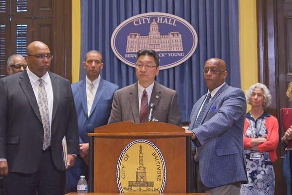June 04, 2019 - Ransomware update Press Conference at City Hall