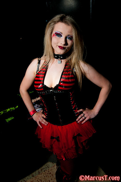Circus of Horrors performer Anastasia