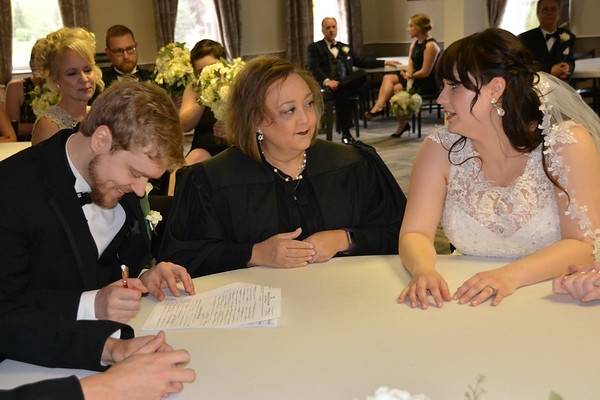 June wedding officiant