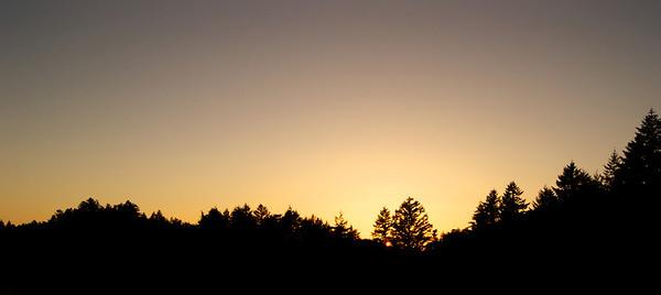 Night falls Mt. Tamalpais ref: c9c0158d-4912-4ebb-a5d6-a2482447987c