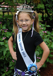 Topsfield, MA---9/29/2012--Lauren Lopes (8 yrs old) of Danvers, MA, was crowned Miss. Junior queen during a competition at The Topsfield Fair on Saturday September 29, 2012.  Official photo courtesy of the Topsfield Fair.