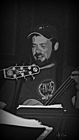 Nick on Bass Guitar  April 2015  Hartford Rd @15 mb
