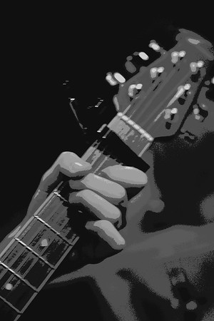 My Guitar  Copyrt 2015 M Burgess