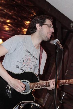 Kyle on guitar 2015 m burgess