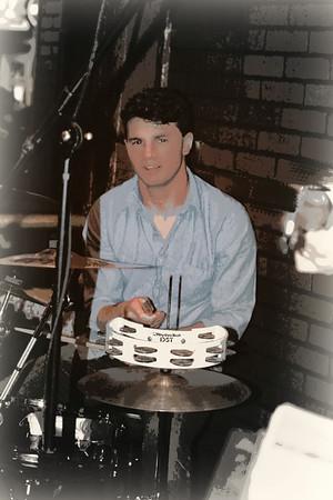 Pat Drumming at Hartford Rd  Copyrt 2015 M Burgess