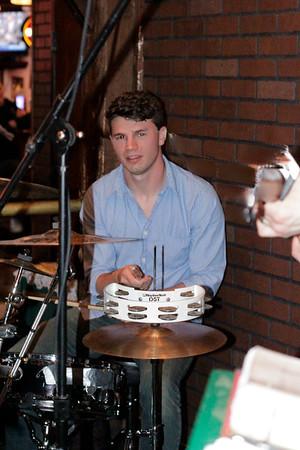 Pat on Percussion  copyrt 2015 m burgess