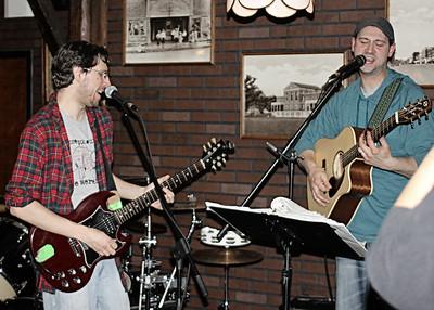 Kyle & Brian Harmonizing  Junk Drawer band  Copyrt 2015 m burgess