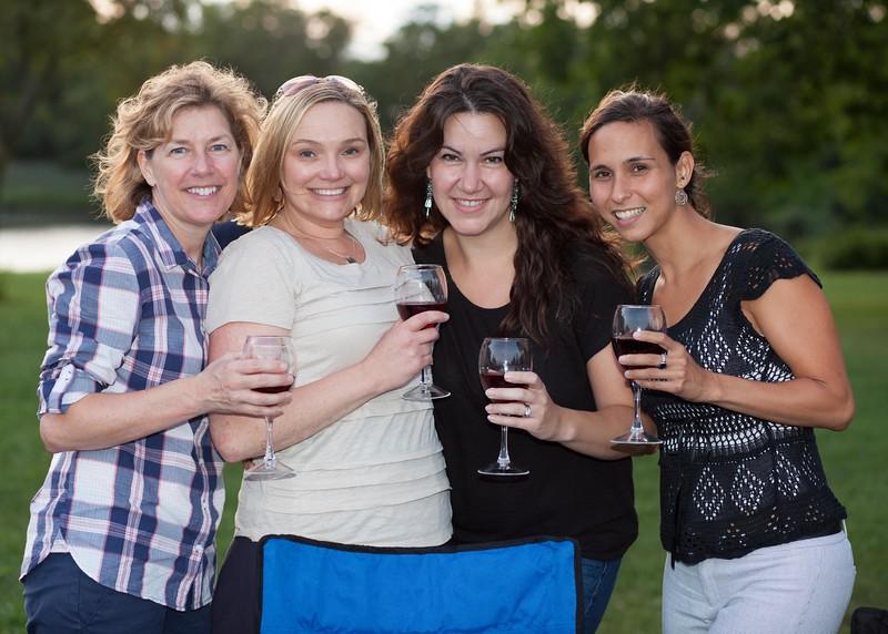 IMG_1726 Lauren Raebin, Jennifer Cheplick, Sandra Vitali and Jessica Muraviov