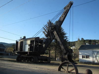 The Bucyrus steam shovel