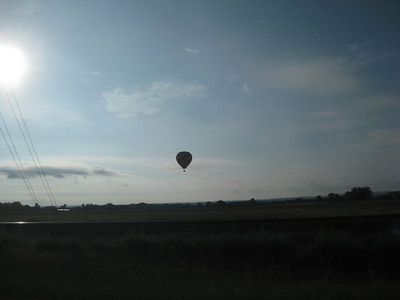 A bad day to be ballooning