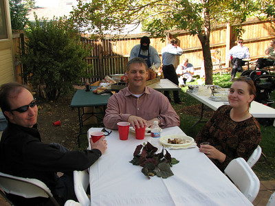 Greg Reinacker, Mark Matthews and his wife Crystal