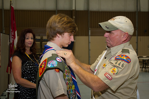 Justin - Eagle Scout Court of Honor