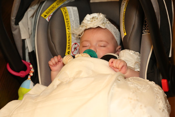 Justin and Kayla's Christening