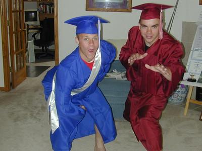 Justin's HS Graduation 2003