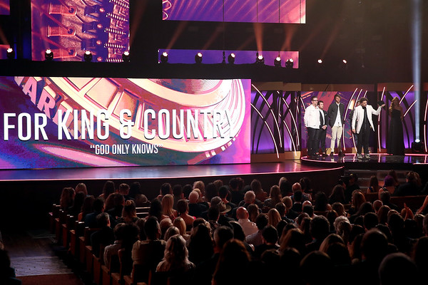 "Song of the Year: for King and Country for ""God Only Knows"""