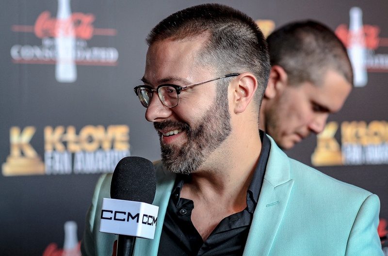 Male Artist of the Year: Danny Gokey / Stopping by on the red carpet