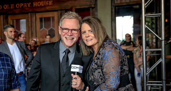 Steven Curtis Chapman and his wife Mary Beth