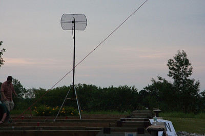 WiFi to link antenna sites for logging