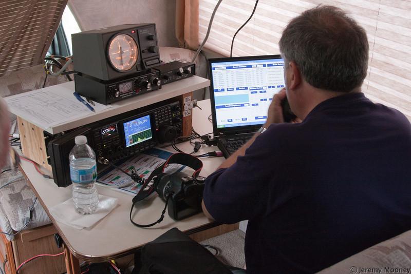 HF SSB Station